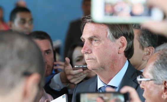 [Bolsonaro confirma saída de Alvim e diz repudiar 'ideologias totalitárias']