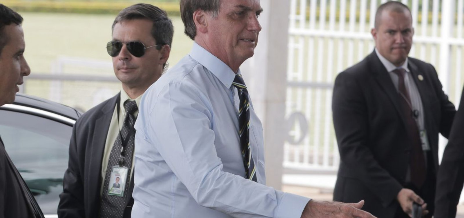 ['É protegido até hoje', diz Bolsonaro sobre autor de atentado que sofreu em 2018]