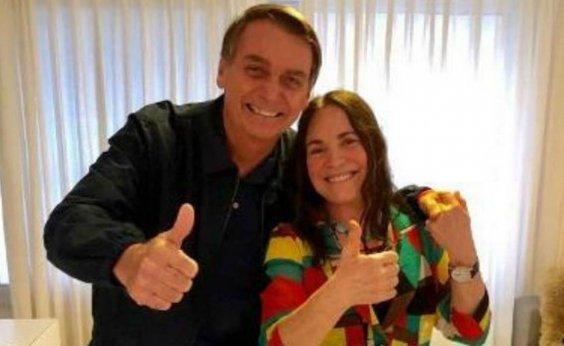 [Bolsonaro quer recriar Ministério da Cultura para abrigar Regina Duarte]