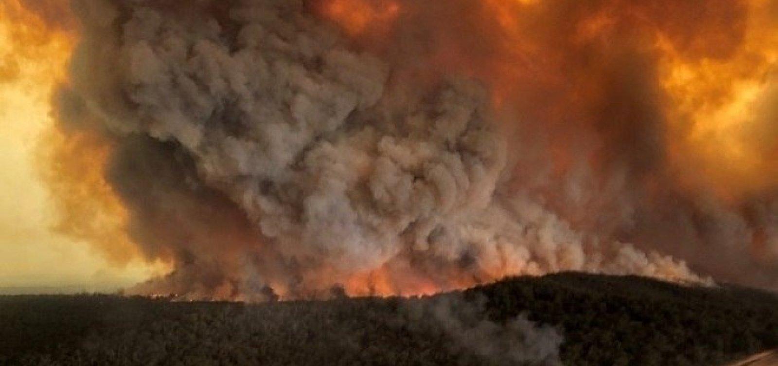 [Número de mortos em incêndios na Austrália sobe para 29]