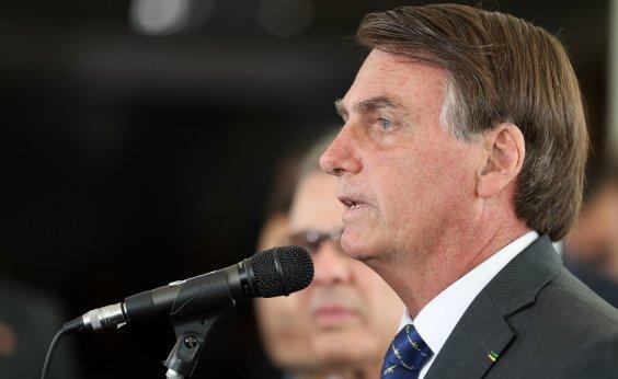 [ Bolsonaro evita responder sobre recriação do Ministério da Cultura: 'Vou ficar te devendo']