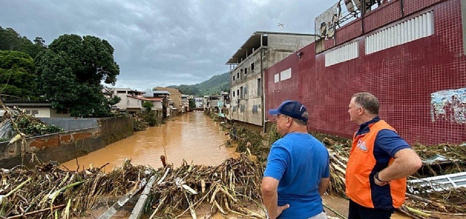 [Chuvas no Espírito Santo deixam seis mortos e 229 pessoas desalojadas]