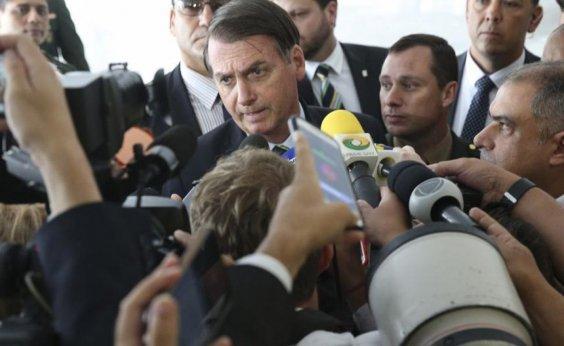 [Bolsonaro ironiza dados de ataques que praticou contra jornalistas]