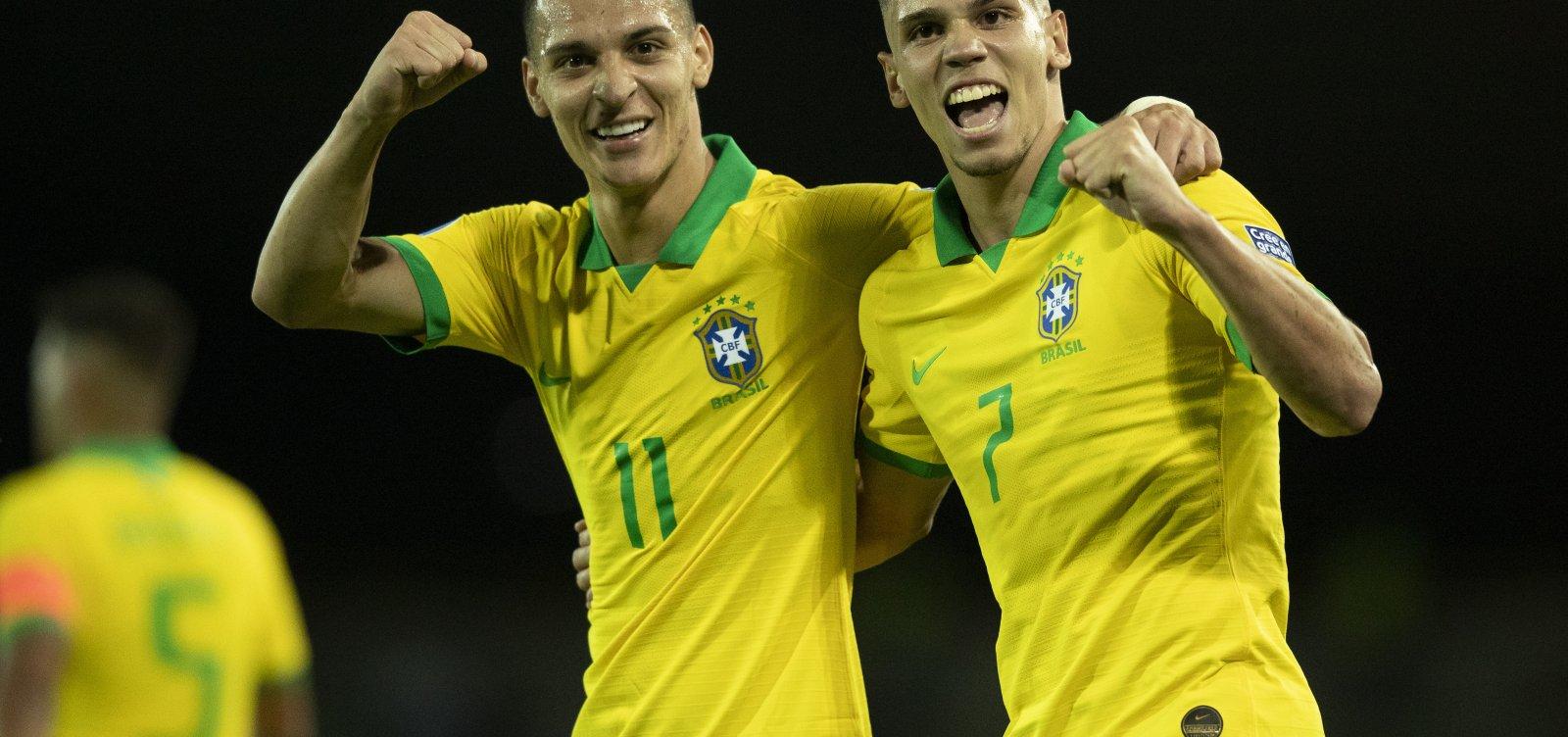 [Brasil vence o Peru por 1 a 0 em estreia no Pré-Olímpico]