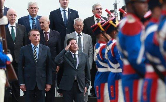 [Bolsonaro anuncia criação de Conselho da Amazônia e de Força Nacional Ambiental]