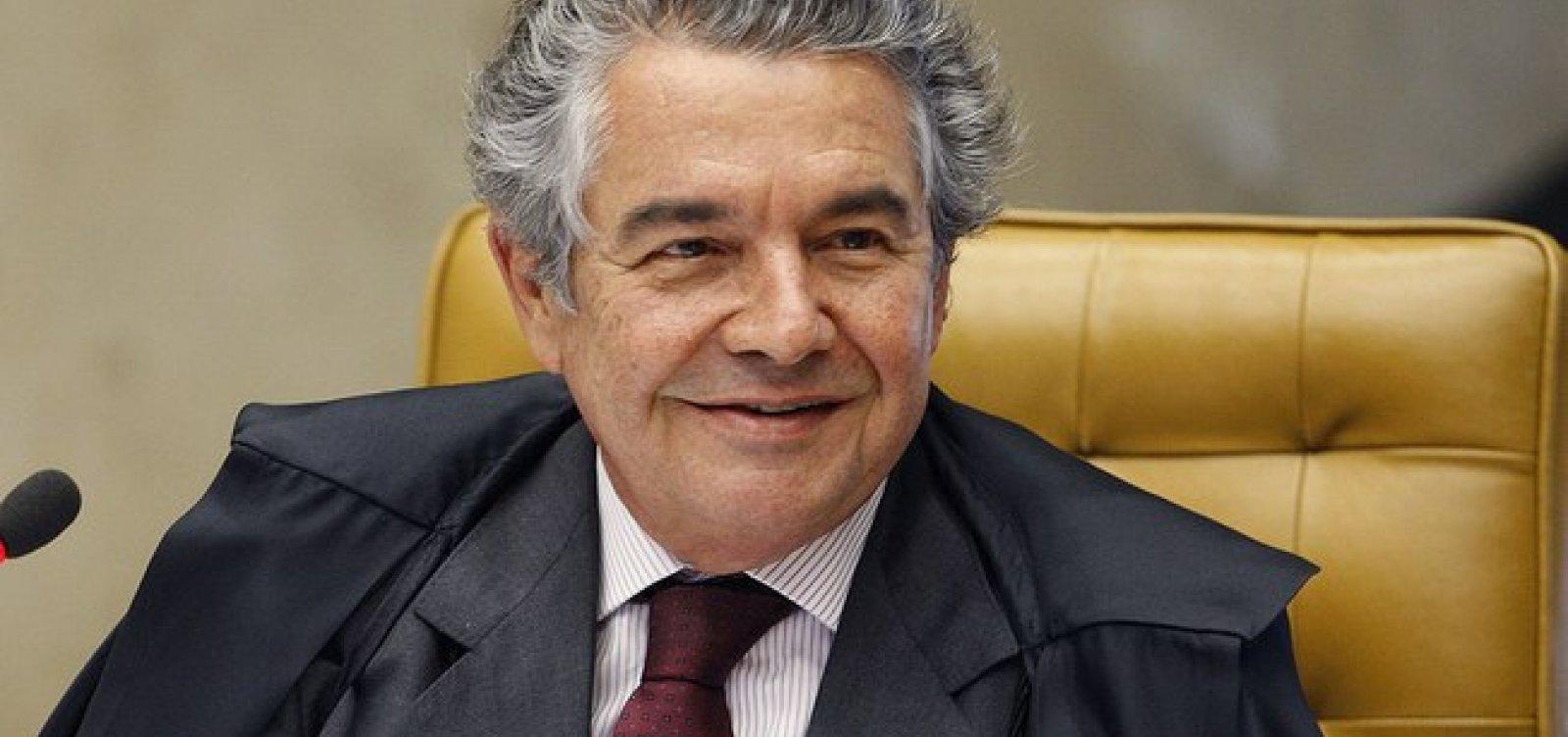 [Denúncia contra Glenn é problemática e perigosa, diz ministro Marco Aurélio]