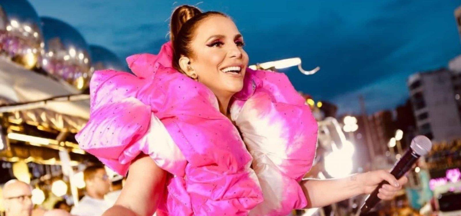 [Pela primeira vez, Ivete Sangalo comanda pipoca no Campo Grande na terça de Carnaval]