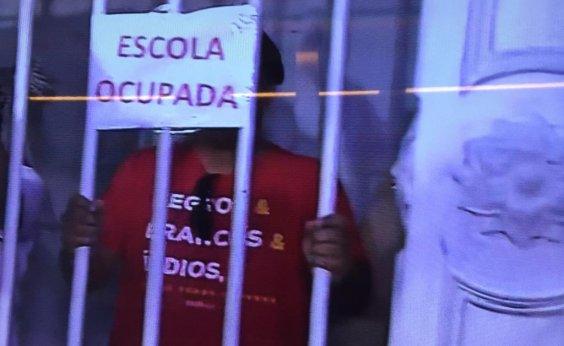 [Secretaria diz que mantém diálogo com representantes do movimento estudantil que ocupam Odorico]