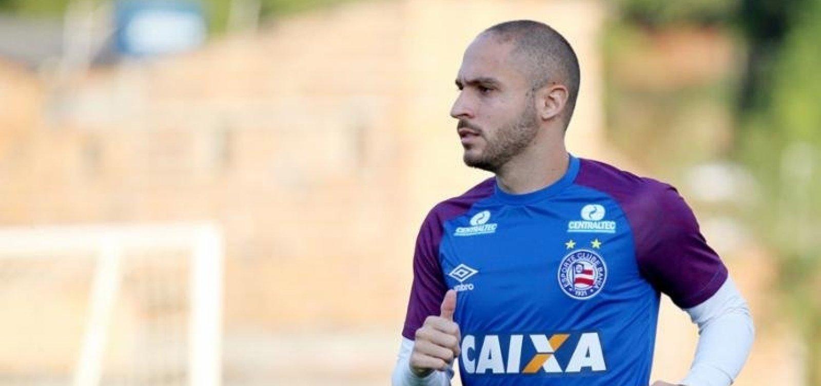 [Bahia oferece Régis em negociação com Éderson, do Cruzeiro]