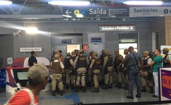 [Refém é liberado por homem no metrô de Salvador]