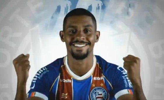 [Autor do gol tricolor, Ramon comemora jogar pelo Bahia: 'Estou feliz de estar aqui']
