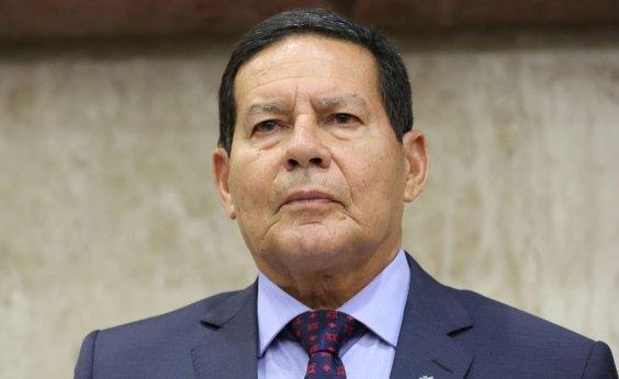 [Mourão minimiza discurso de Alvim em relação a outros problemas do Brasil: 'Papo de Ipanema']