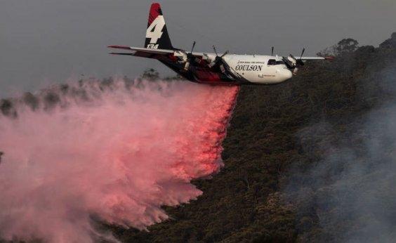 [Avião que atuava no combate a incêndio na Austrália cai e três pessoas morrem]