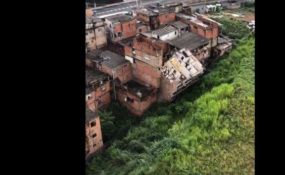 [Prédio de cinco andares desaba em Narandiba durante chuva; veja vídeo]