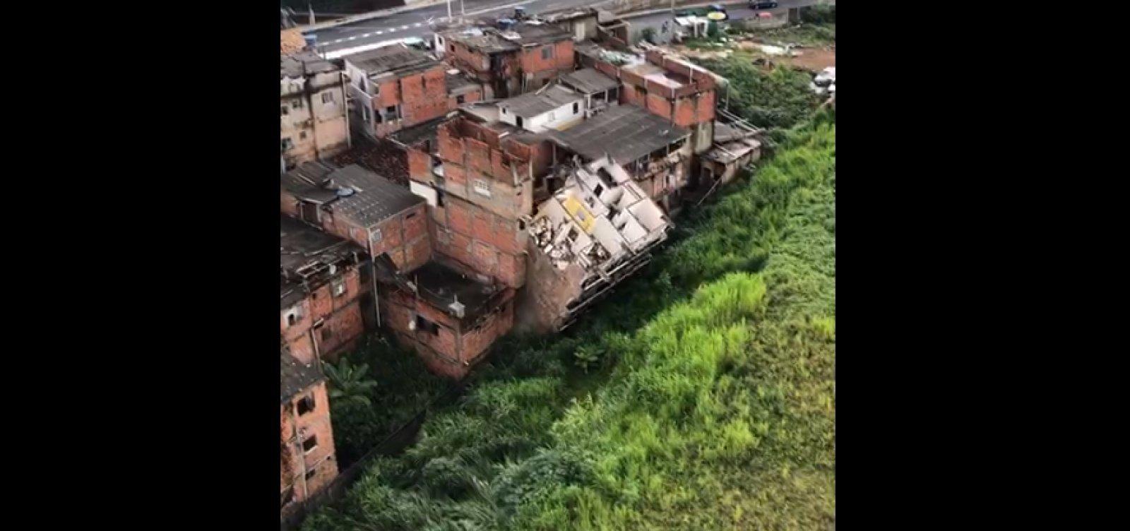 [Imóvel que desabou em Narandiba foi condenado pela Codesal na quarta-feira (15)]