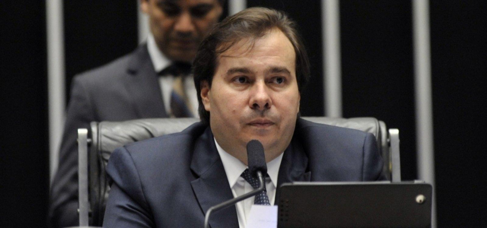 [Rodrigo Maia não poderá comparecer a inauguração do Centro de Convenções de Salvador]