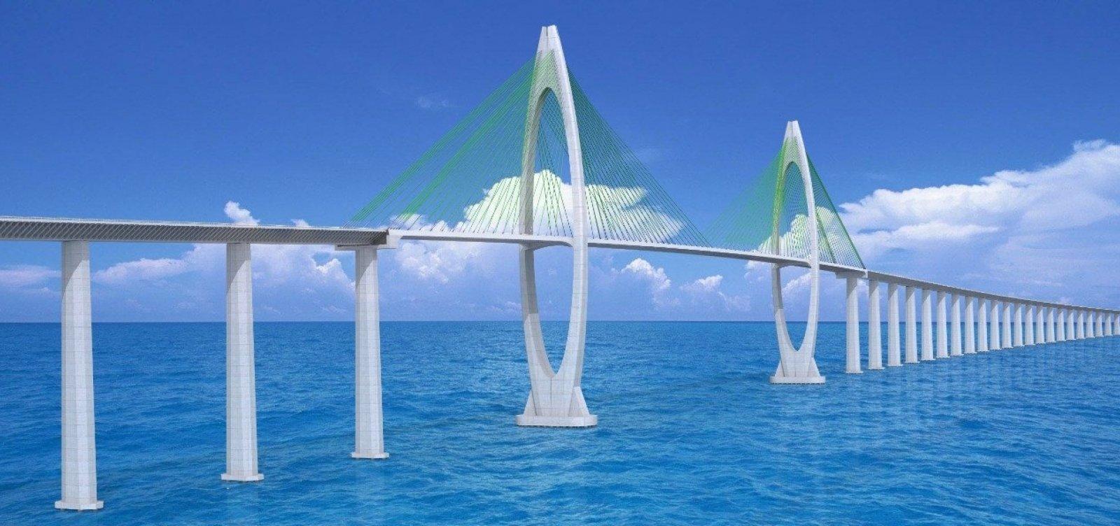 [Licitação da Ponte Salvador-Itaparica é concluída]
