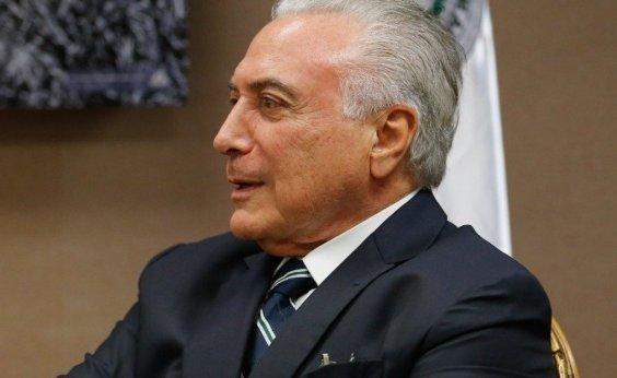 [Presidente do STJ suspende processo que tramita em SP contra Temer]