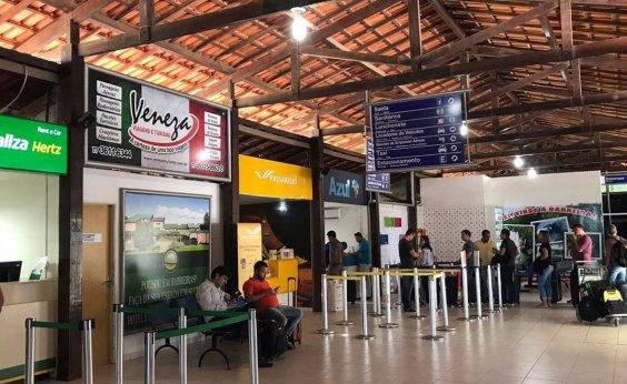 [Mau tempo provoca cancelamento de dois voos no Aeroporto de Barreiras]