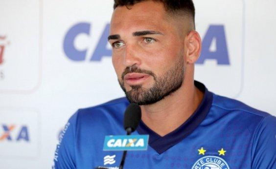 [Bellintani anuncia permanência de Gilberto no Bahia e aumento de multa rescisória]