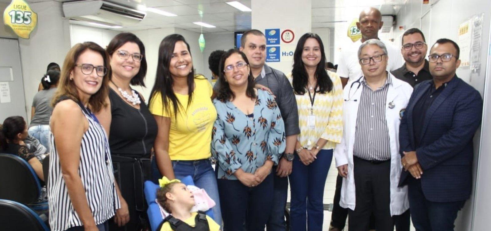[Parceria entre Sempre e Ministério realiza mutirão para perícia de crianças com microcefalia em Salvador]