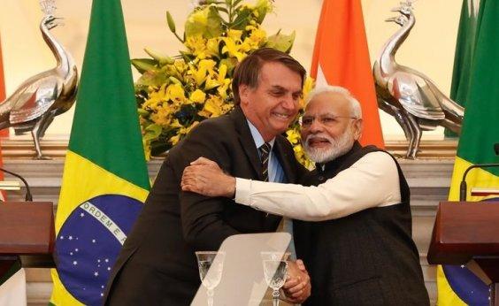 [Brasil e Índia se comprometem a dobrar comércio bilateral até 2022, chegando a US$ 15 bilhões]