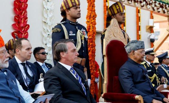 [Bolsonaro participa de evento do Dia da República na Índia]
