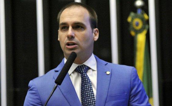 [Eduardo Bolsonaro defende fabricantes estrangeiros para aumentar acesso a armas no Brasil]