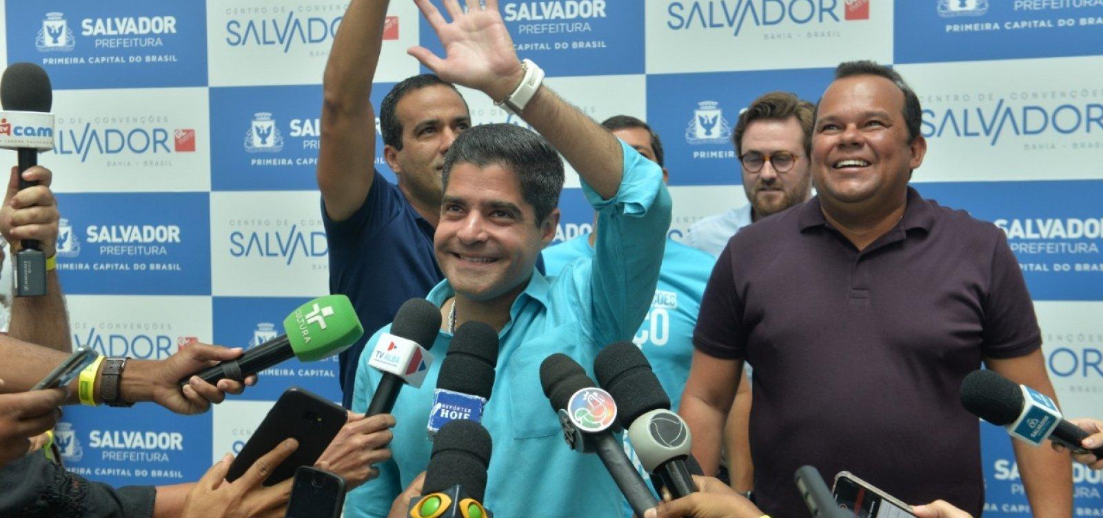 [ACM Neto diz que Salvador pode ultrapassar o Rio no turismo de eventos]