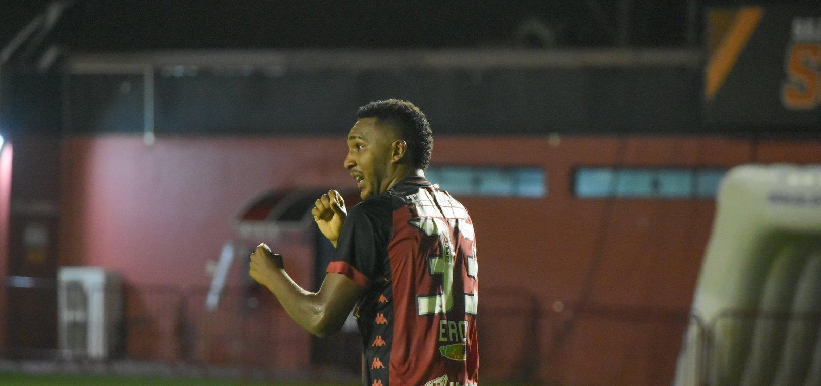 [Com gol nos acréscimos, Vitória consegue empate contra o Flumiense de Feira]