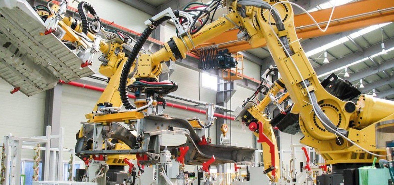 [Mais da metade dos baianos teme ser substituída por robôs no trabalho]