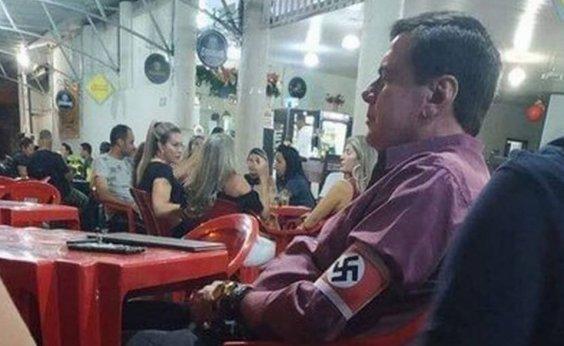 [Homem que usou suástica no braço em MG vira réu por apologia ao nazismo]