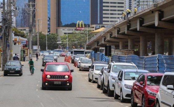 [Obras do BRT mudam trânsito e transporte público na Av. ACM a partir desta semana]