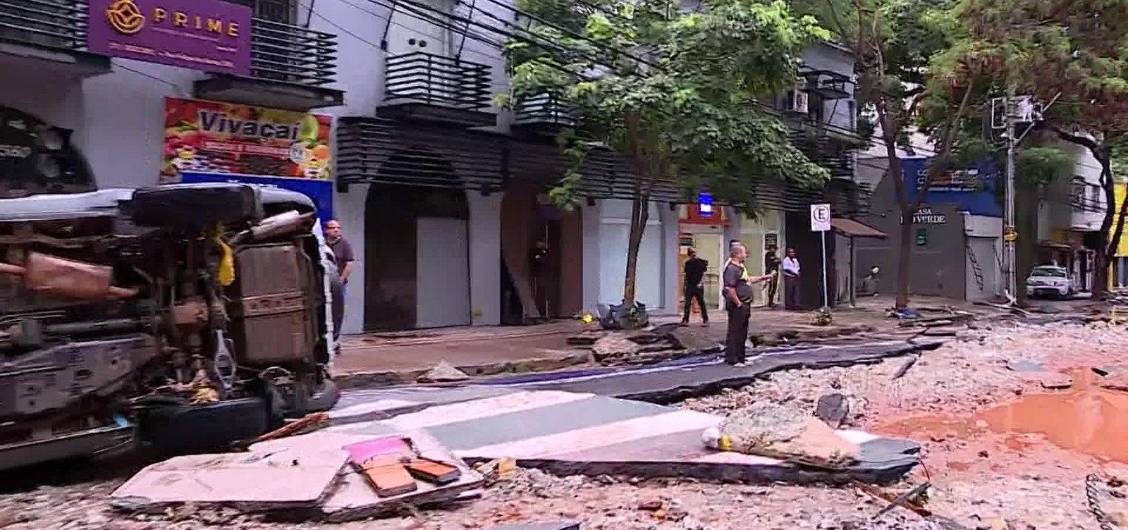 [Chuva forte causa destruição em Minas Gerais; número de mortos chega a 53]