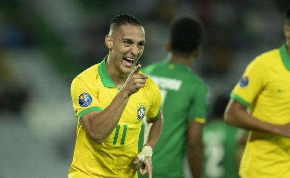 [Brasil bate Bolívia por 5 a 3 e garante vaga no quadrangular final do Pré-Olímpico]