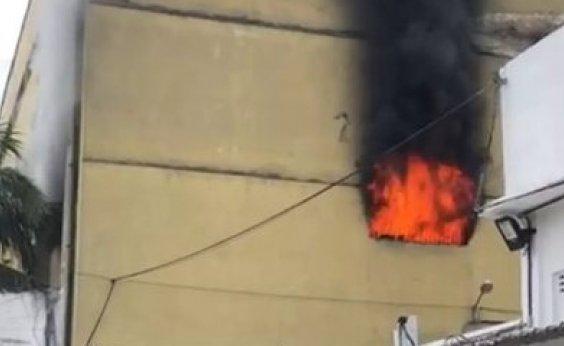 [Incêndio atinge presídio na Zona Norte do Rio de Janeiro]