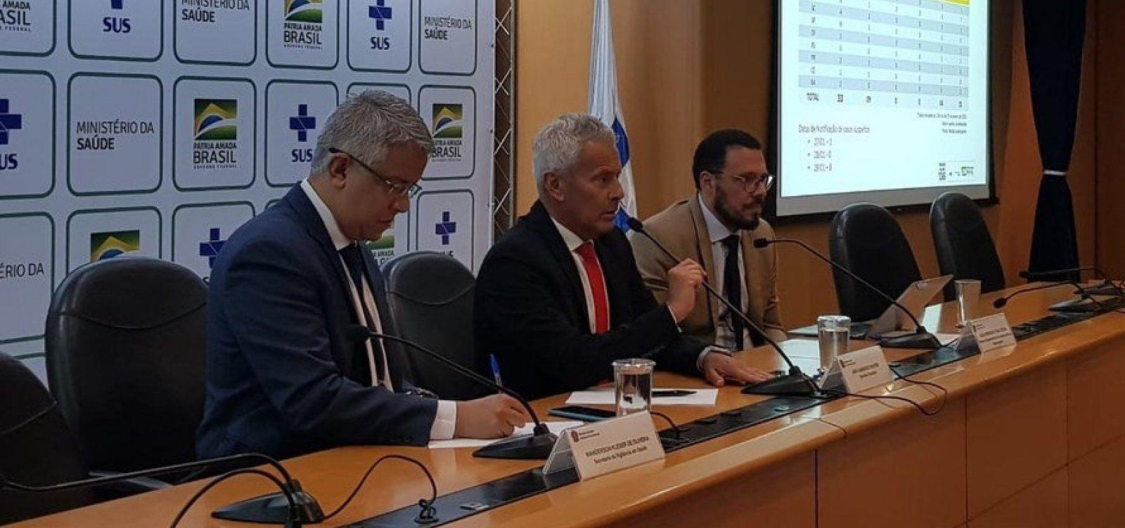 [Brasil tem 12 casos suspeitos do novo coronavírus, diz Ministério da Saúde]