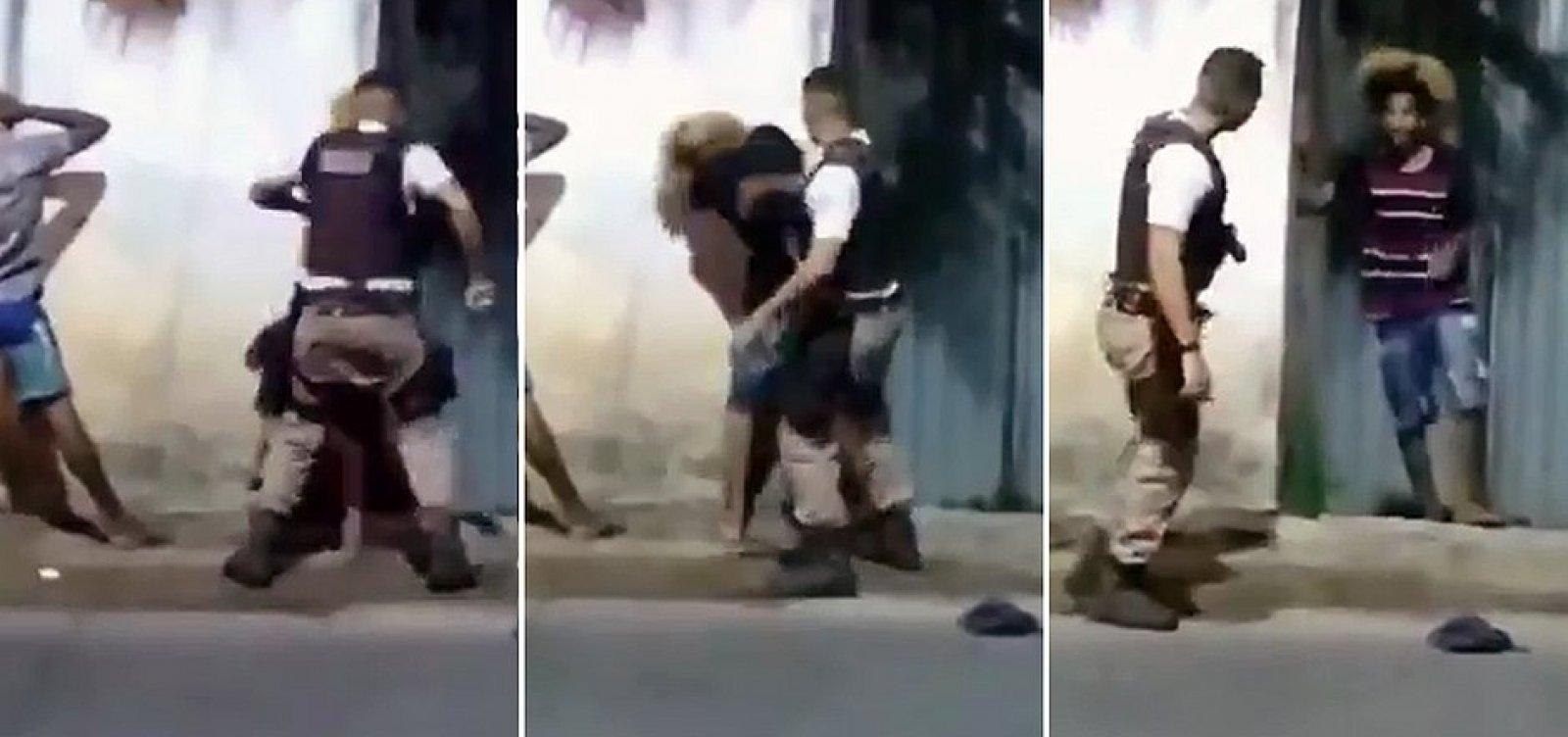 [Mãe de jovem agredido por PM processará o Estado por lesão e injúria racial]