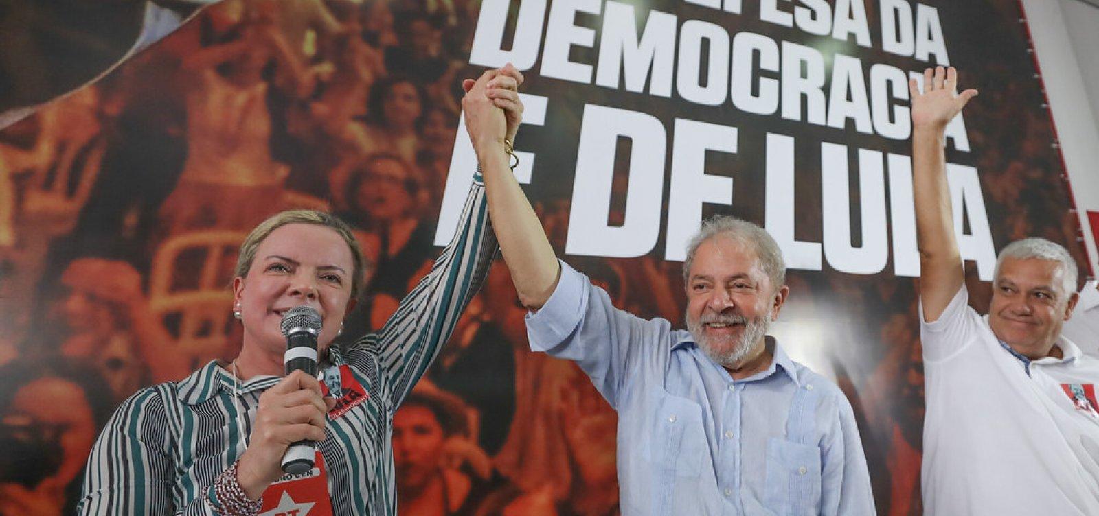 [PT contradiz assessoria e descarta aliança com PSDB, DEM e PSL nas eleições municipais de 2020]