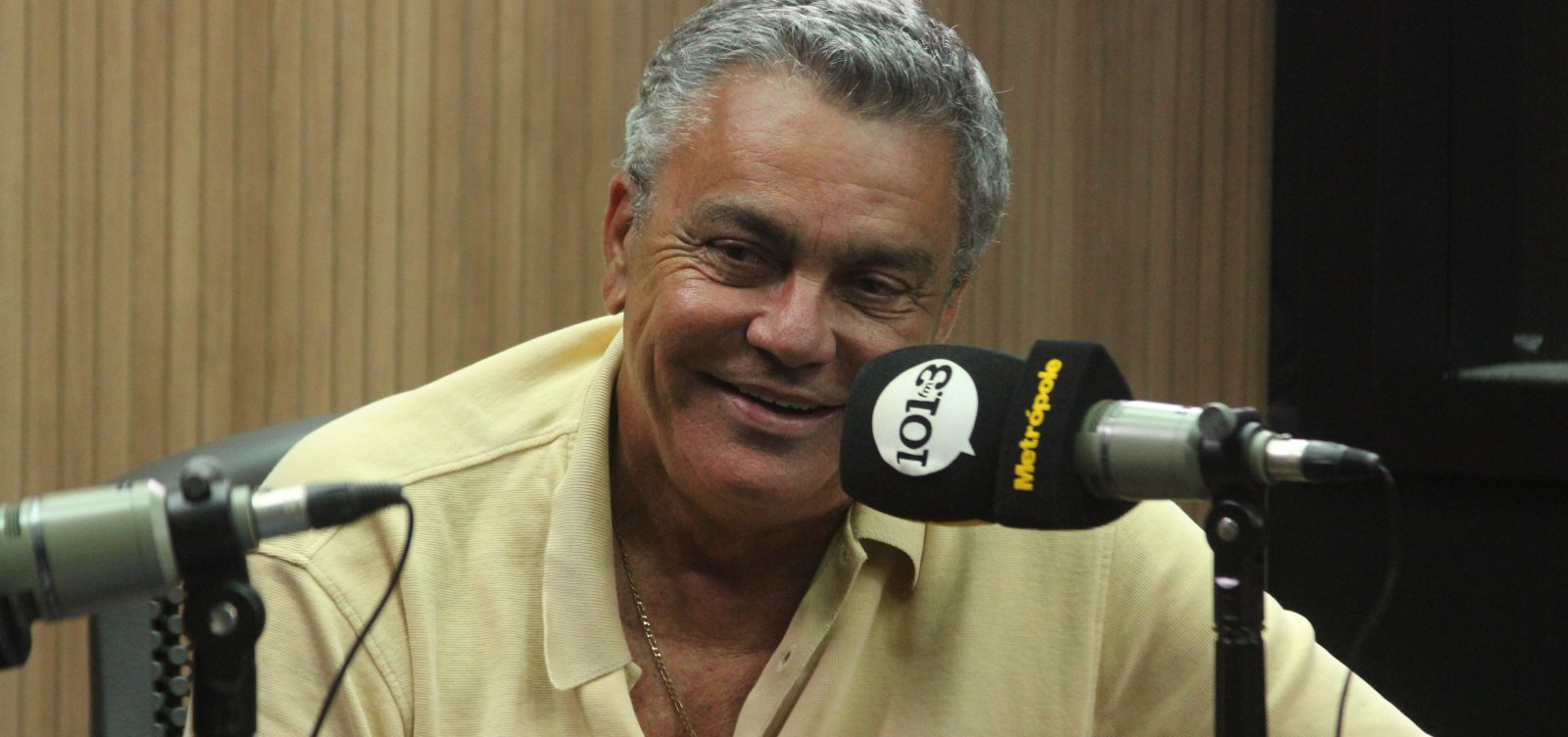 ['Parece que não perdi a mão', diz Paulo Carneiro após vitória no Ba-Vi]