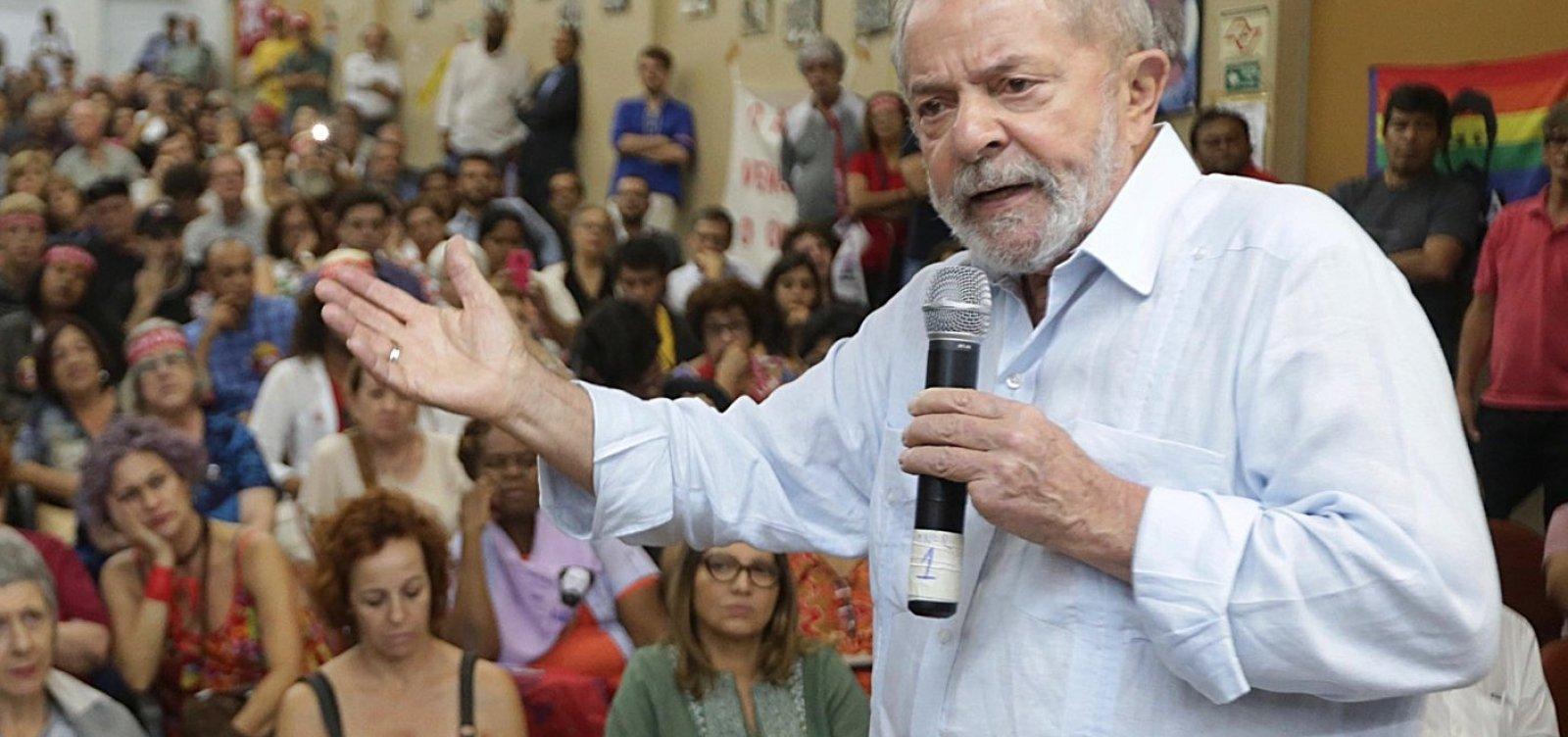['Essa gente não suporta a ascensão social dos mais pobres', diz Lula sobre Guedes]