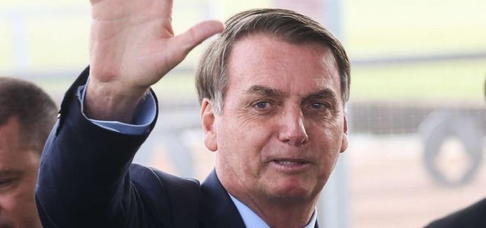 ['Um lixo', diz Bolsonaro sobre Greenpeace]