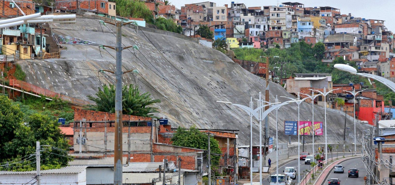 [Governo ultrapassa número de 50 obras em contenções de encostas entregues em Salvador]