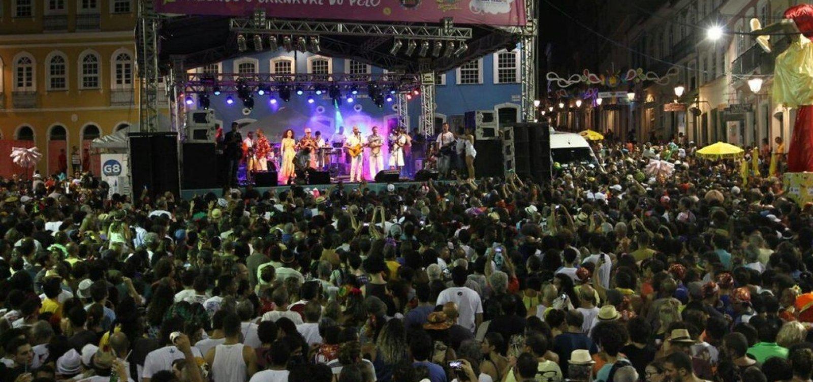 [Carnaval: confira a programação de blocos e shows no Centro Histórico]
