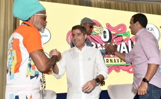 ['Desaposentadoria' de Carlinhos Brown no Carnaval de Salvador custou R$ 600 mil]
