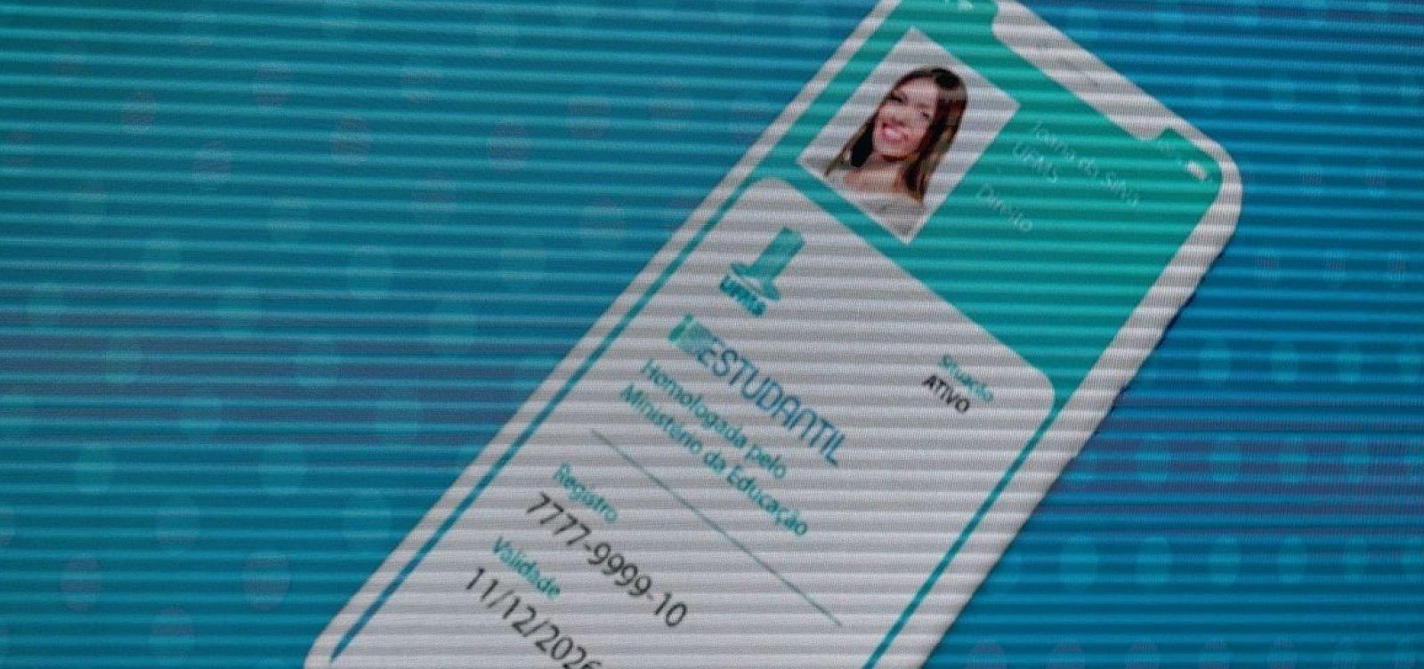 [MEC busca alternativa para voltar a emitir carteira de estudante]