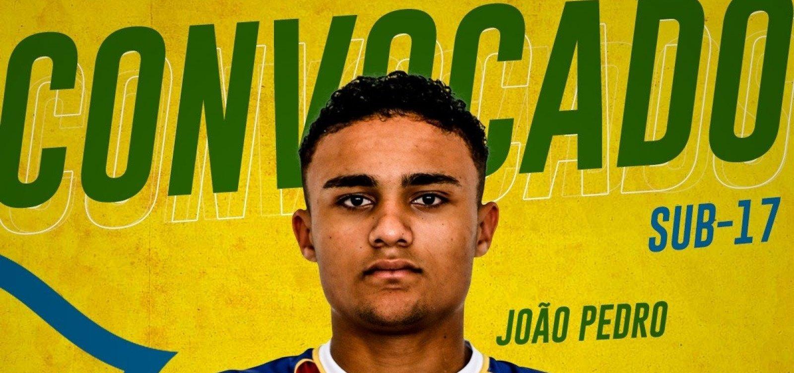 [Atacante do Bahia é convocado para seleção brasileira sub-17]