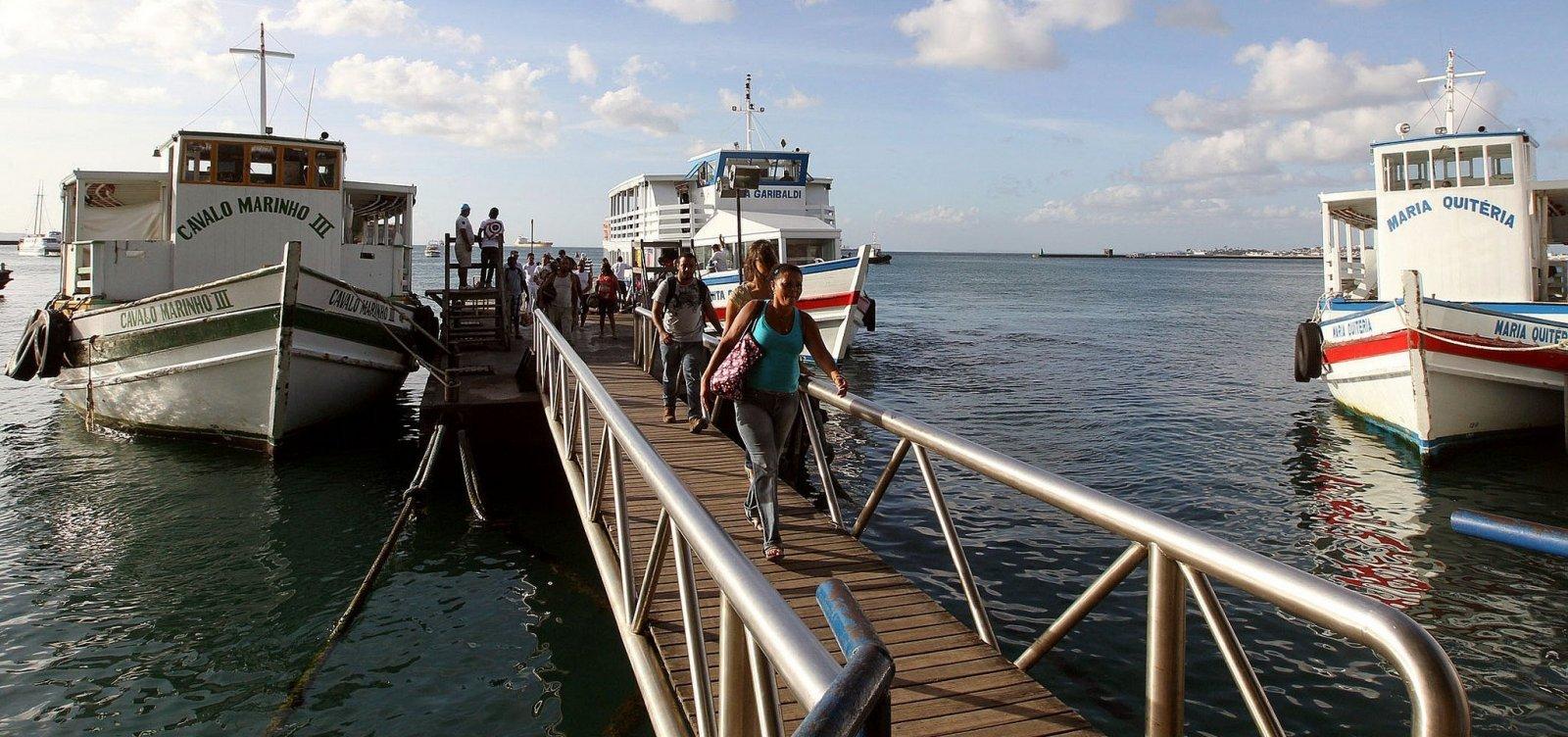 [Escunas de turismo na Baía de Todos-os-Santos são suspensas em razão de chuvas]