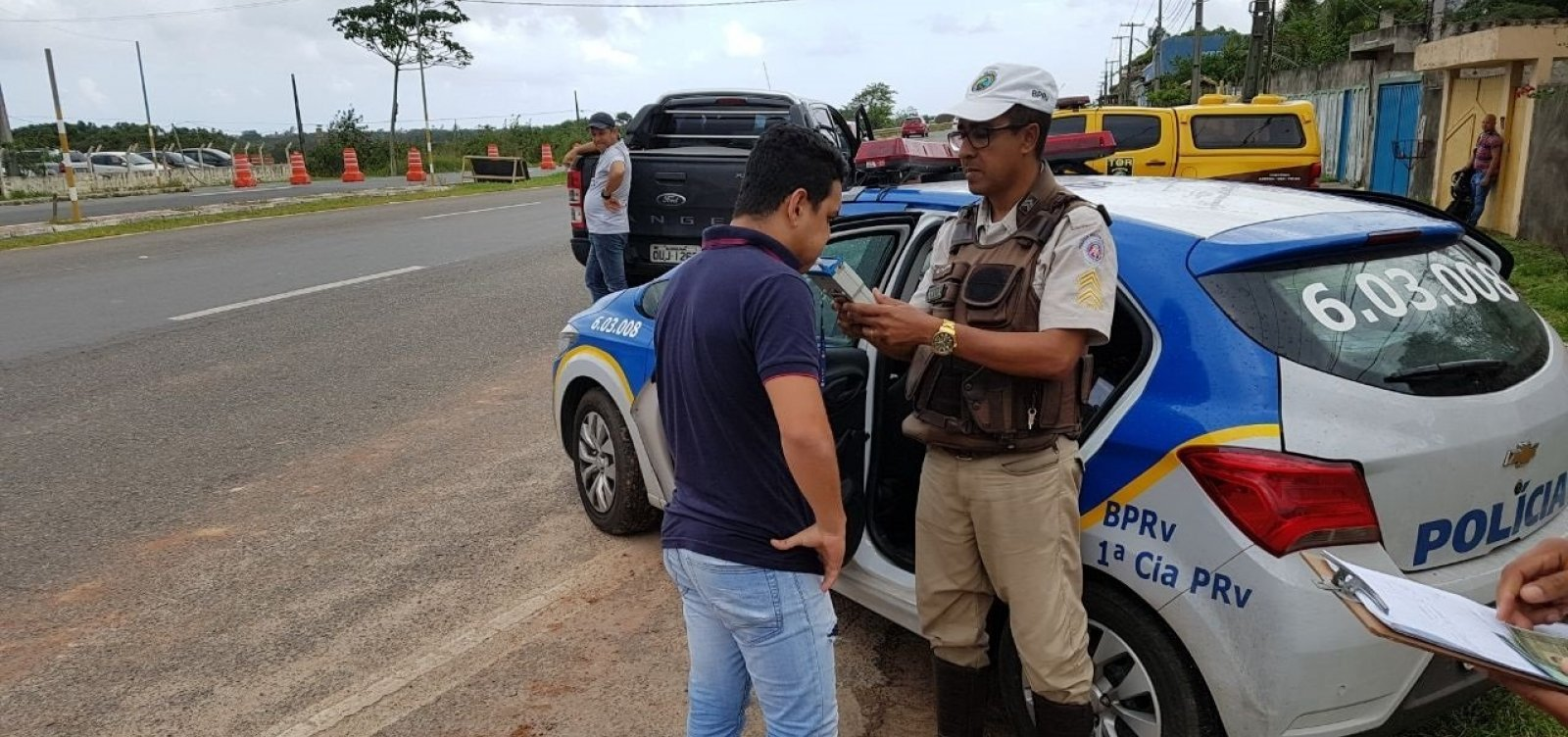 [Rodovias estaduais terão policiamento reforçado durante o Carnaval]