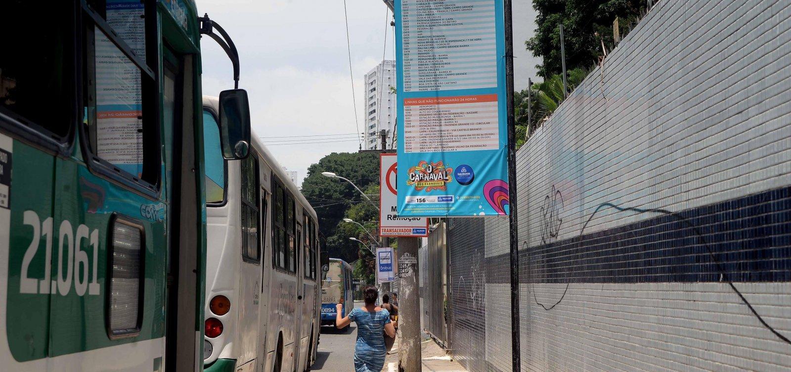 [Mais de 1 milhão de foliões usaram ônibus no primeiro dia de Carnaval]